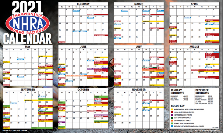 Download Your Complete 2021 NHRA All series Season