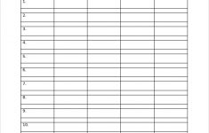 FREE 7 Sample Monthly Work Schedule Templates In PDF MS