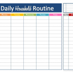 Free Printable Daily Schedule For Kids Daily Schedule