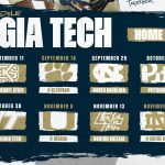 Georgia Tech Football 2021 Schedule Released From The