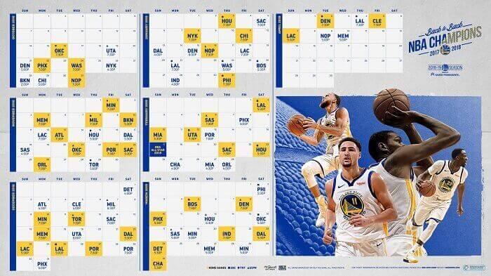 Get Schedule When Is The Next Warriors Game