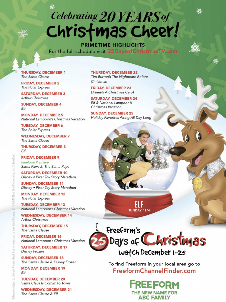 How To Plan A Christmas Movie Night With Free Printables