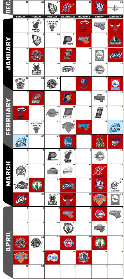 Insider s Guide To The 2011 12 Schedule Atlanta Hawks