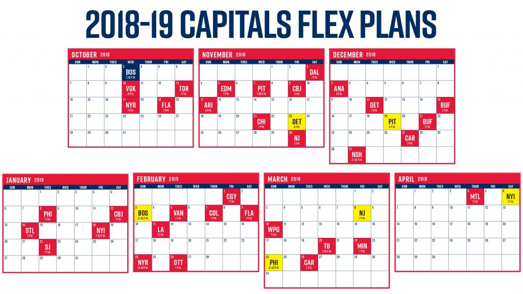Inventive Washington Capitals Printable Schedule Jackson