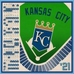 Kansas City Royals 2021 Schedule Digital Etsy