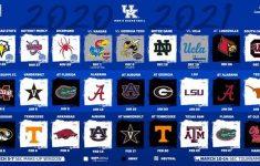 Kentucky Releases 2020 2021 Basketball Schedule