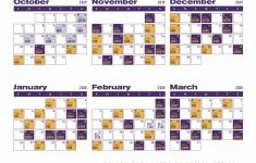 Lakers Schedule In Color Lakers