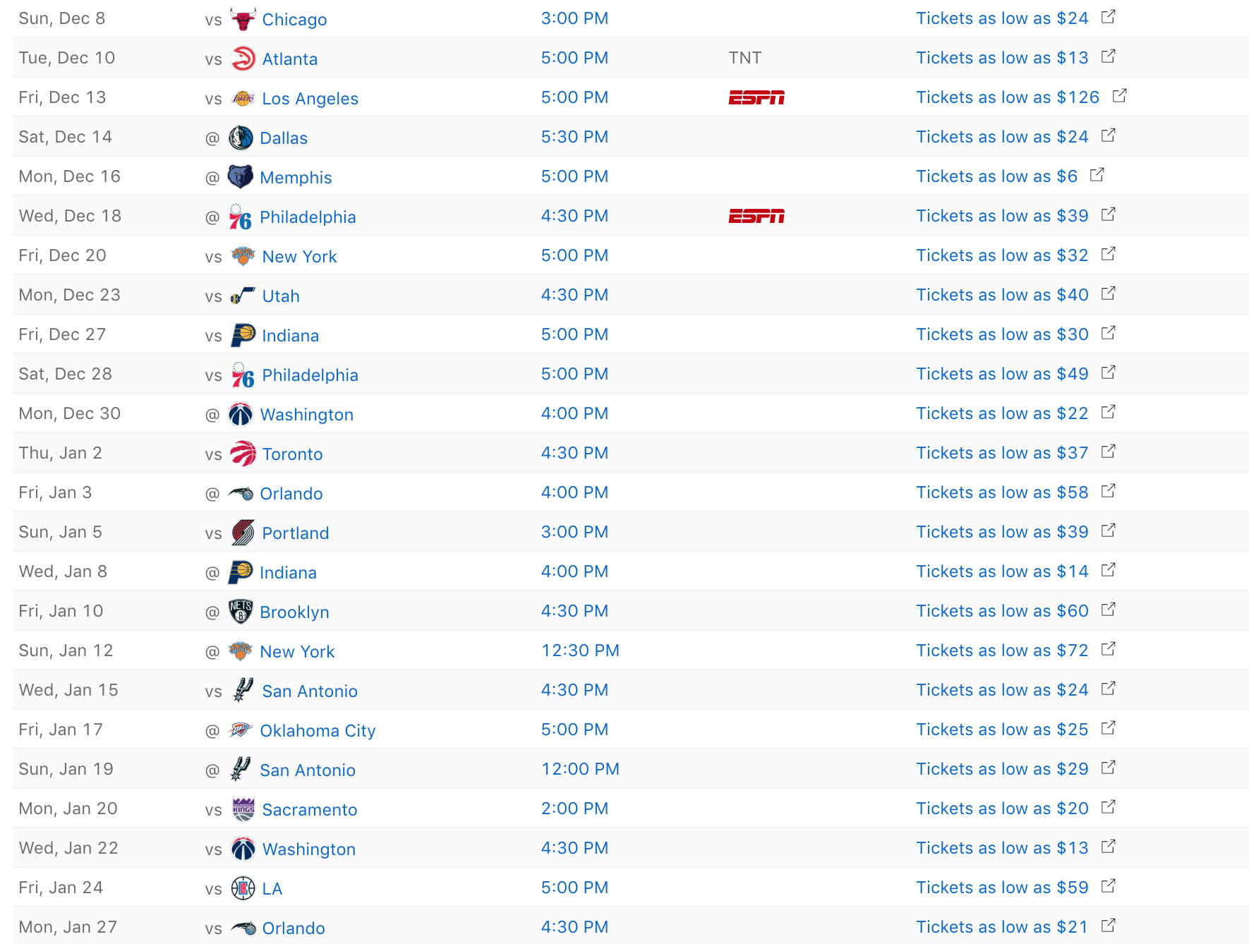 Miami Heat Schedule For 2019 20 Regular Season