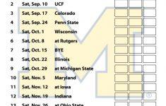 Michigan Wolverines Football Schedule 2016 Printable