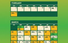 MLB Spring Training Schedule 2021 A S Release Cactus
