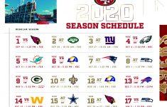 Nfl 2021 Schedule Printable Calendar Template Printable