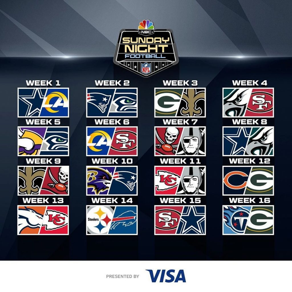 NFL Team Update Waiting All Day For The Sunday Night