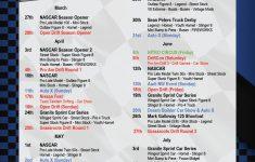 Nhra 2021 Schedule Printable PrintableSchedule