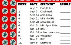 Ohio State Football Schedule 2019 SportSpring