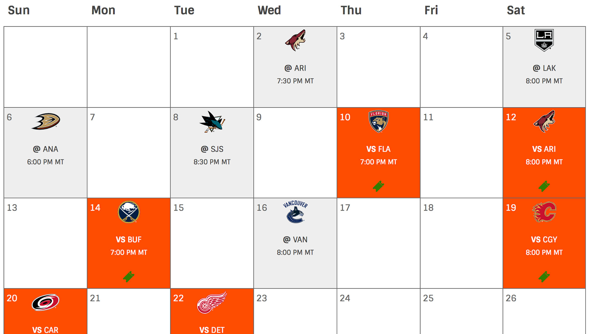 Oilers Home Game Event Guide Rogers Place