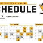 Pittsburgh Penguins Printable Schedule That Are Bright