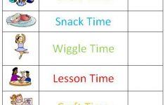 Preschool Schedule Template Preschool Schedule Daily