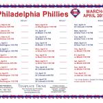 Printable 2019 Philadelphia Phillies Schedule