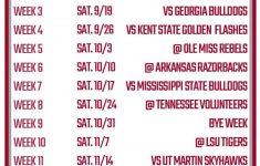 Printable Alabama Football Schedule 2020