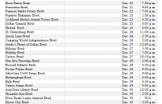 Printable College Football Bowl Schedule Pick Em