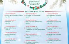 Printable Hallmark Christmas Movie Checklist Holiday