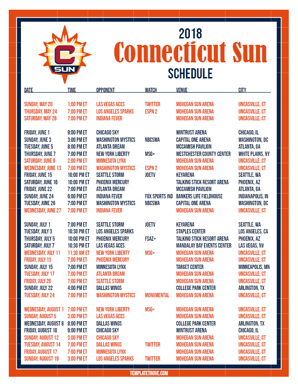 Printable Lynx Schedule Download Them And Try To Solve