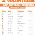 Printable Schedule 2019 2020 Lady Vols Basketball All