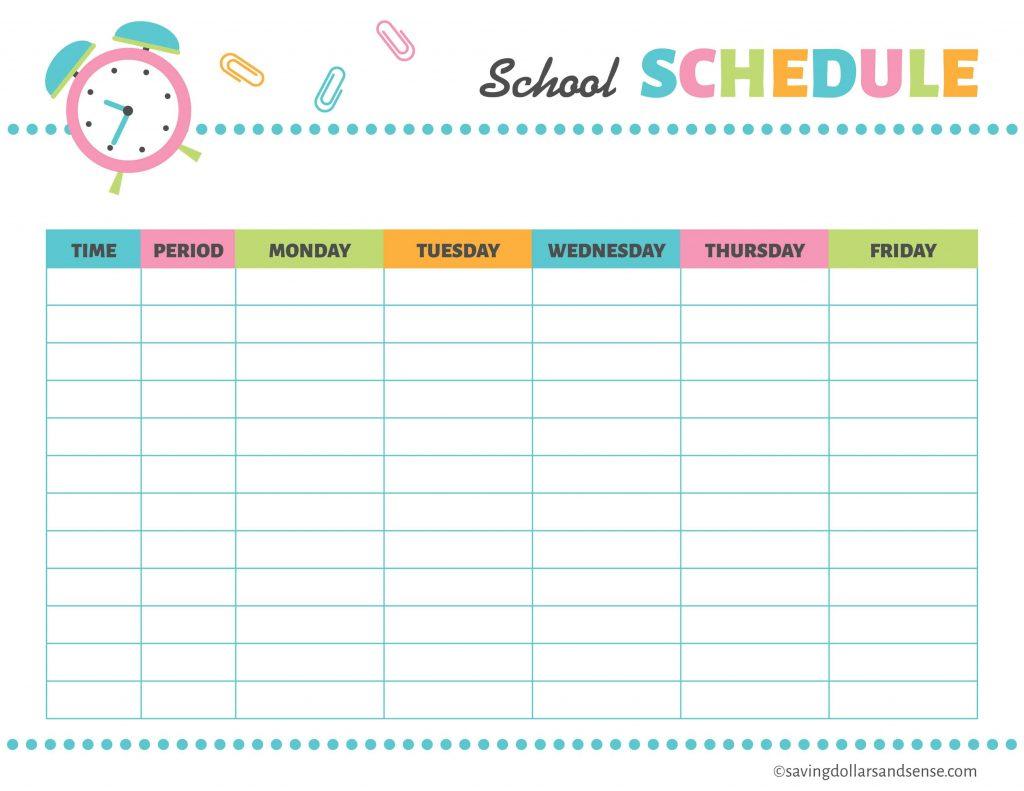 Printable School Planning Kit Saving Dollars And Sense