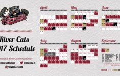 Sacramento River Cats Full 2017 Schedule Now Available
