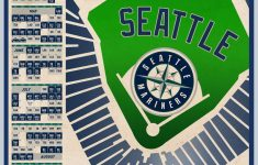 Seattle Mariners 2021 Schedule Print Etsy