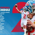 SEC Announces 2021 Football Schedules