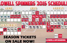 Lowell Spinners Printable Schedule