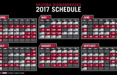 The Dbacks 2017 Schedule Is Out Openingday Is Set