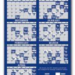 Toronto Maple Leafs Pro Hockey Schedule Magnets 4 X 7