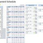 UEFA EURO 2020 2021 Schedule Excel Template Excel VBA
