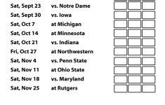 University Of Michigan Football Schedule 2015 Printable