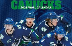 Vancouver Canucks Team 2021 12 X 12 Inch Monthly Square