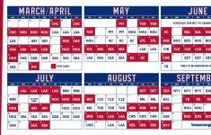 Texas Rangers Printable Schedule 2021