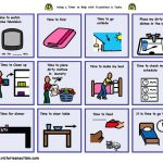 Visual Schedule Pictures For Home Planner Template Free