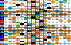 Wallet Sized Copy Of The 2013 NFL Schedule