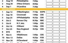 2016 17 Pittsburgh Steelers Schedule Steelers Schedule