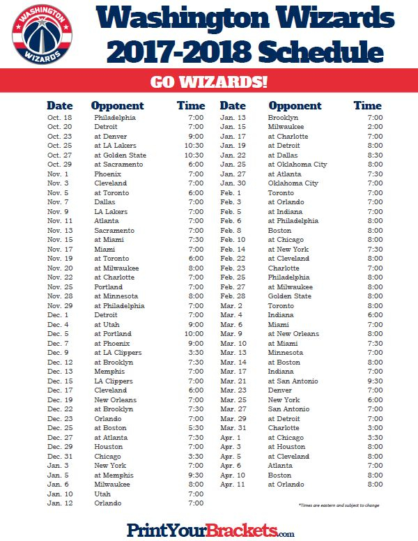 91 Best Printable NBA Schedules Images On Pinterest Nba
