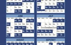 Blue Jays 2021 Schedule Printable
