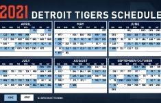 Detroit Tigers 2021 Schedule Mega Sports News