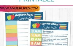 Get Your FREE Homeschool Daily Schedule Printable