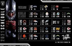 Las Vegas Raiders Announce 2021 Schedule