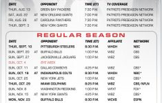 Patriots Download A Printable Version Of The 2015