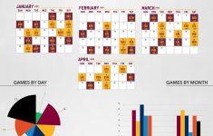 Playful Cavs Schedule Printable Brad Website