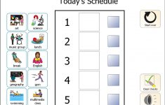 Visual Schedules For Students With Autism Printable