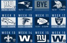 2021 Dallas Cowboys Schedule Dallas Opens In Tampa Hosts